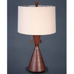 Cinnamon Flask Casual Table Lamp