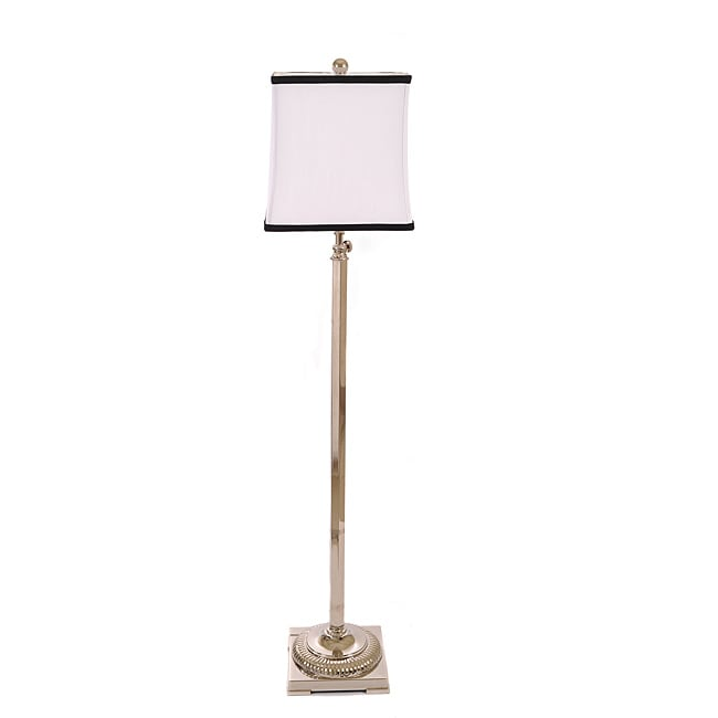 Altitude Adjustable 1-light Metal Contemporary Floor Lamp