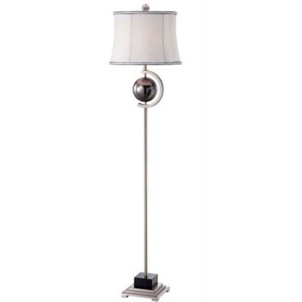 Global Reflections Marble Contemporary Floor Lamp