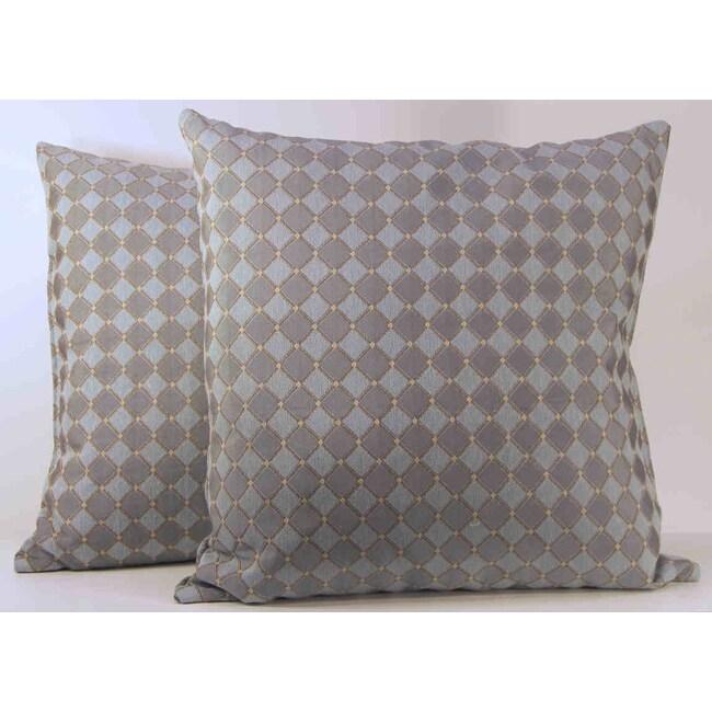 Korbel Cornflower Toss Pillows (Set of 2)