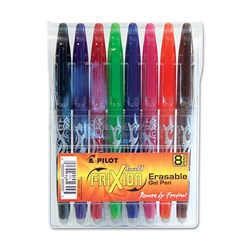 Pilot FriXion Point Erasable Roller Ball Needle-point Gel Pens (Pack of 8)