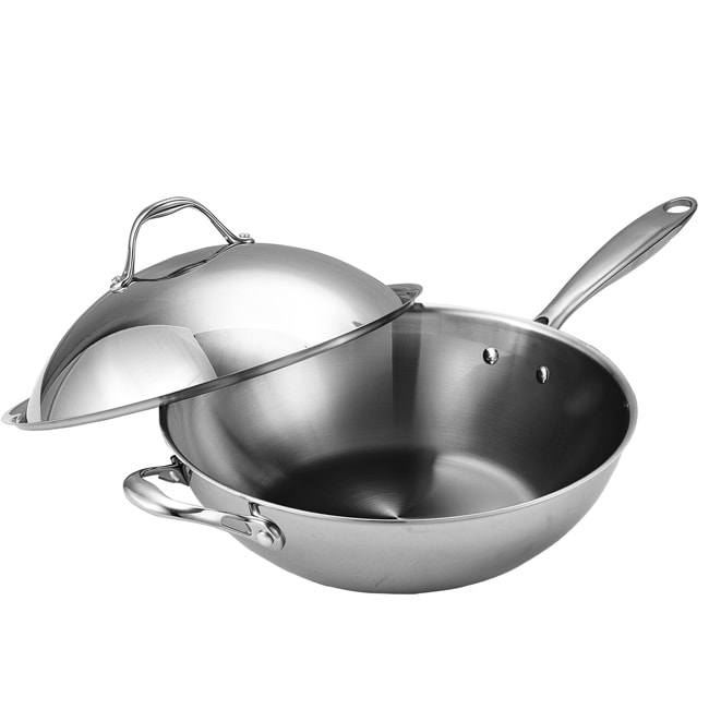 Cooks Standard Stainless Steel 13 Inch Chef S Pan With