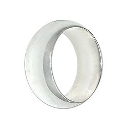 Sterling Silver Men's 'Peace' Ring (Indonesia)