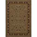 Power-loomed Kashan Slate Rug (3'11 x 5'7)