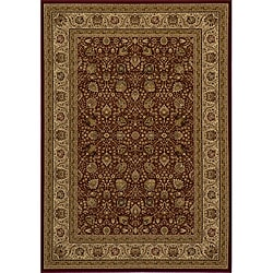 "Westminster Kashan Red Power-Loomed Rug (9'10"" x 13'6"")"