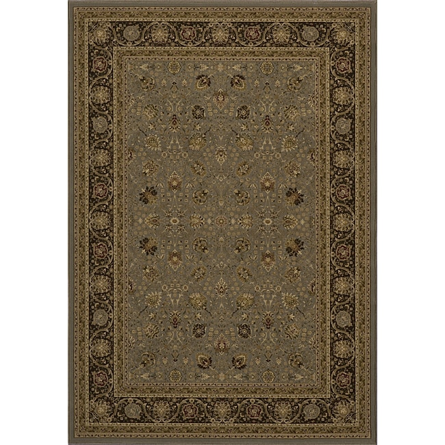 "Westminster Kashan Slate Power-Loomed Rug (9'10"" x 13'6"")"