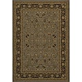 Power-loomed Kashan Slate Rug (9' 10 x 13' 6)