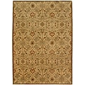 Hand-tufted Malcais Gold Wool Rug (2' x 3')