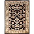 Hand-tufted Mahene Black Wool Rug (8' x 10')