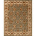 Hand-tufted Calinesto Green Wool Rug (10' x 14')