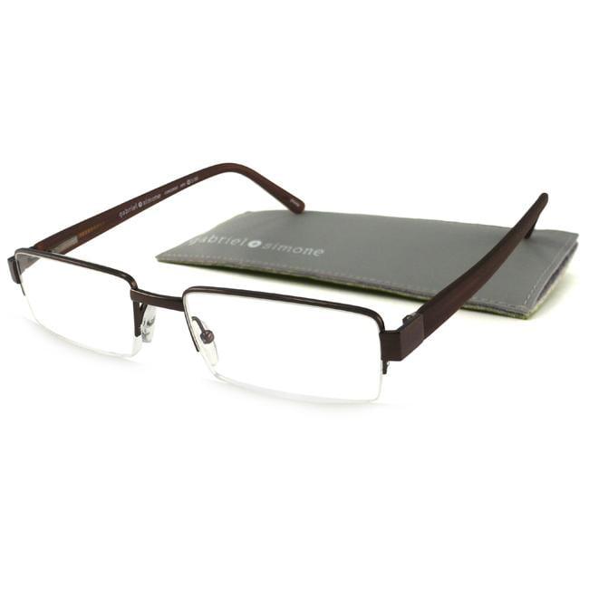Gabriel+Simone Concorde Brown Men's Reading Glasses