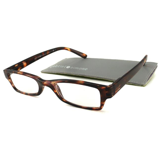 Gabriel+Simone Saint Germain Tortoise Men's Reading Glasses