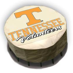 NCAA Tennessee Volunteers Round Patio Set Table Cover