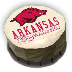 NCAA Arkansas Razorbacks Round Patio Set Table Cover