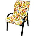 Patio High-back Fireworks Floral Chair Cushion