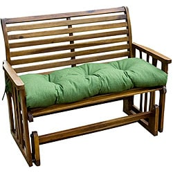 Savannah Green Outdoor Bench Cushion