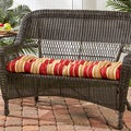 44-inch Outdoor RomaStripe Swing/ Bench Cushion