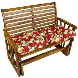 44-inch Outdoor RomaFloral Swing/ Bench Cushion