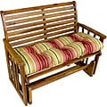 Persian Stripe Outdoor Bench Cushion