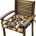 Outdoor Woodland Floral Chair Cushion