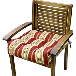 20-inch Outdoor Roma Stripe Chair Cushion