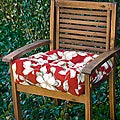 Outdoor Palazzo Floral 20-inch Chair Cushion