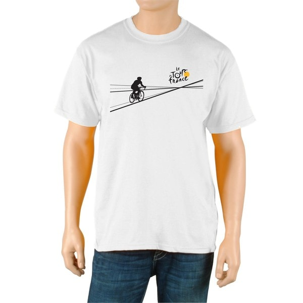 Le Tour de France Men's 'Poster' White Official T-Shirt