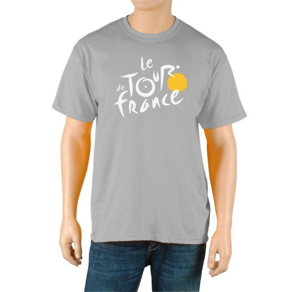 Le Tour de France Men's 'Logo' Grey Official T-Shirt