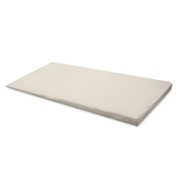 Hi-Lo Incline 1.5-4.5-inch Twin-size Memory Foam Mattress Topper