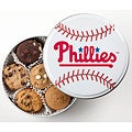 Mrs. Fields Phillies Baseball Tin