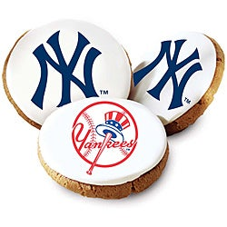Mrs. Fields New York Yankees Logo Butter Cookies (Pack of 12)