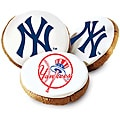 Mrs. Fields New York Yankees Logo Cookies (Pack of 12)
