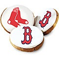 Mrs. Fields Boston Red Sox Logo Butter Cookies (Pack of 12)