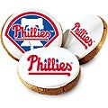 Mrs. Fields Philadelphia Phillies Logo Butter Cookies (Pack of 12)