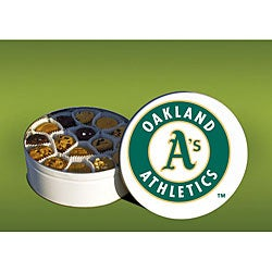 Mrs. Fields Oakland A's 96 Nibbler Cookies Tin