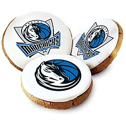 Mrs. Fields Dallas Mavericks Logo Butter Cookies (Pack of 12)