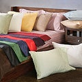 Egyptian Cotton Queen-size 300 Thread Count Striped Olympic Sheet Set
