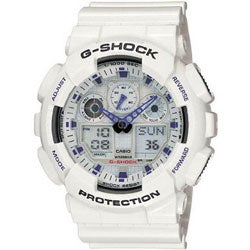 Casio Men's 'G-Shock' X-Large White Analog/ Digital Watch