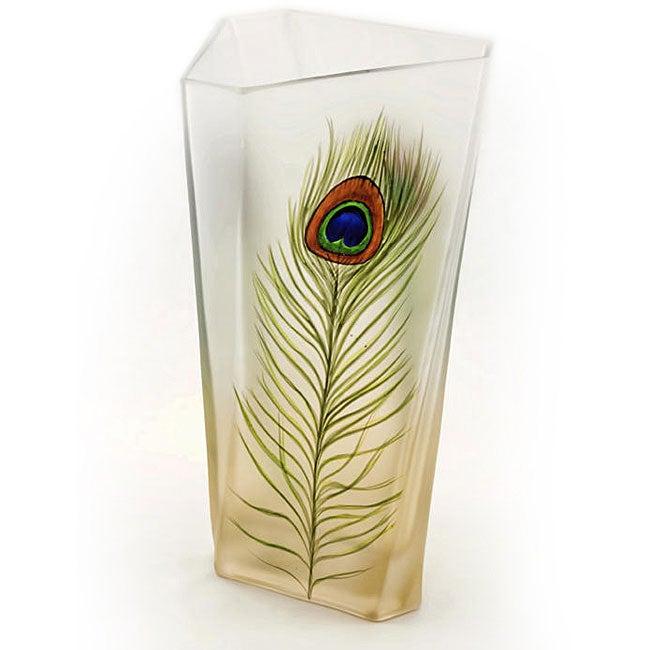 Peacock Series Vase