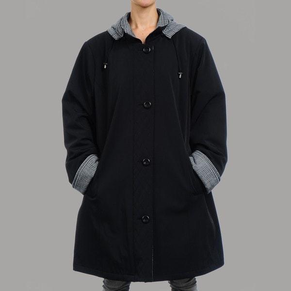Nuage Women's Hollywood Oversized Short Coat