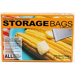 Vacmaster quart storage bag 100 count box (8