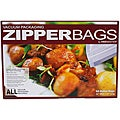 "VacMaster Gallon Zipper Bags 50 Count (11"" X 16"")"