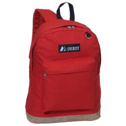 Everest 17-inch Vintage Suede Bottom Lightweight Two-toned Backpack