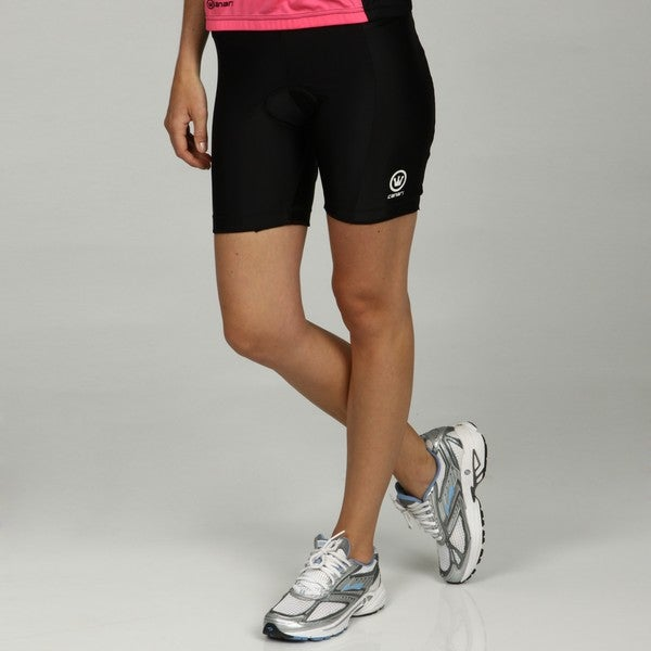 Canari Women's 'Veloce Pro' Black Cycling Shorts