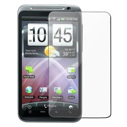 3-piece Screen Protector/ Car and Travel Charger for HTC ThunderBolt 4G