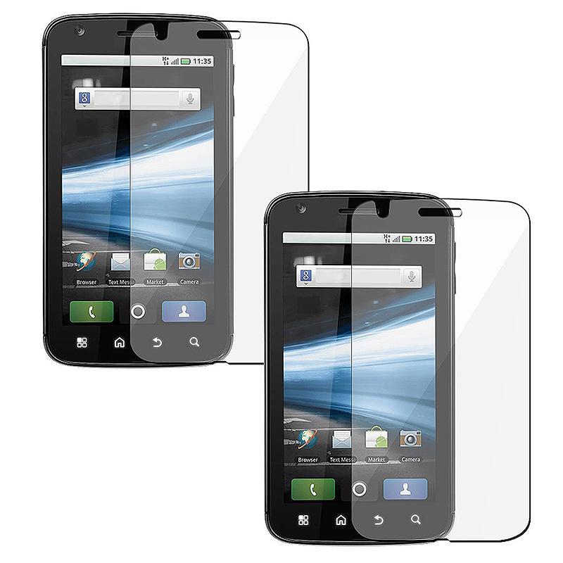 Screen Protector for Motorola MB860 Atrix 4G (Pack of 2)
