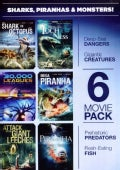 6-Movie Pack: Sharks, Piranhas, and Monsters (DVD)