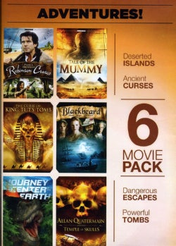 6-Movie Pack: Adventure! Robinson Crusoe (DVD)