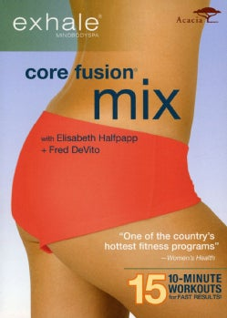 Exhale: Core Fusion Mix (DVD)
