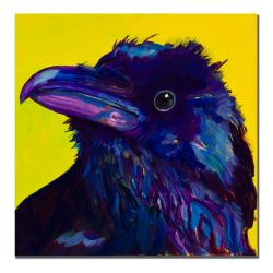 Pat Saunders-White 'Corvus' Gallery-wrapped Canvas Art